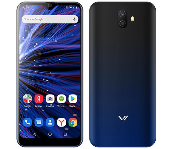 В России начались продажи смартфона Vertex P310 Pro за 7 тысяч рублей с NFC и большим экраном
