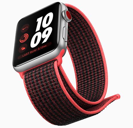Apple в 2017 году продала рекордное количество Apple Watch. Половина объема пришлась на четвертый квартал