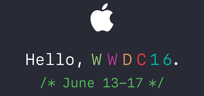 Конференция WWDC 2016 начнется 13 июня