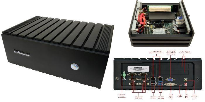 Stealth представила безвентиляторный мини-ПК LPC-720F
