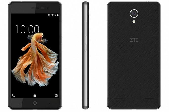 ZTE Blade A520C: бюджетный смартфон с быстрой зарядкой и раздельными слотами для симок и MicroSD
